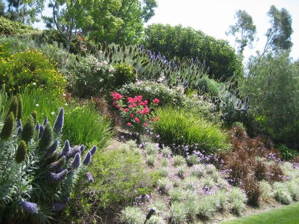 garten am hang anlegen und schöne hangbeete bepflanzen, Garten und Bauen