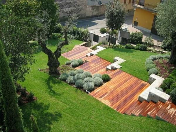 Garten Am Hang Anlegen Und Schone Hangbeete Bepflanzen