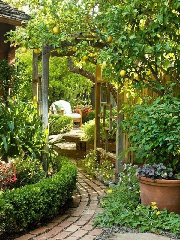 Garten selbst gestalten ist gar nicht so kompliziert - Garten mediterran gestalten bilder ...