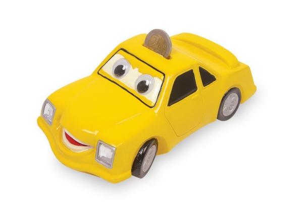 geld sparen lustige spardosen designs gelbes auto
