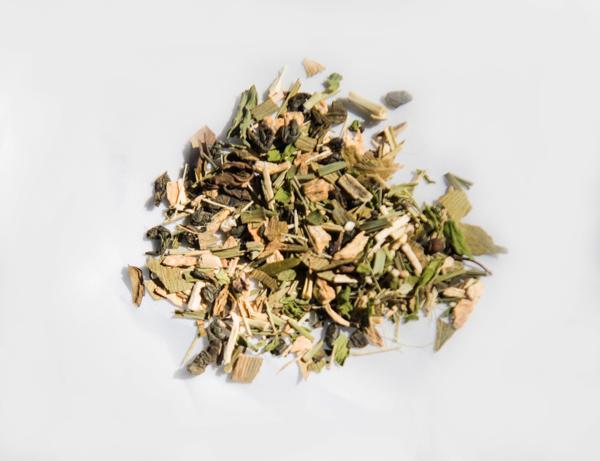 gesunde getränke tee zubereiten grüne minze