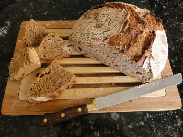gesundes brot selber backen roggenbrot glutenfreies brot backen