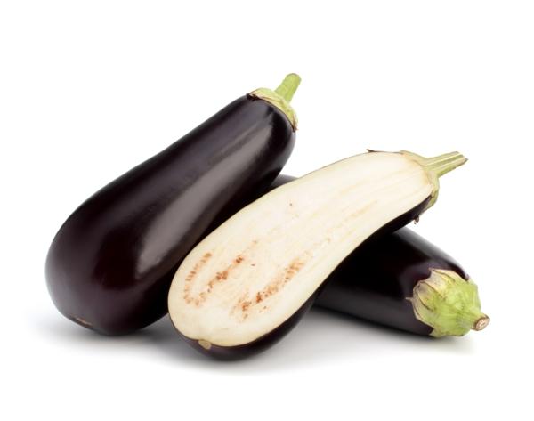 gesundes herz auberginen gemüse essen