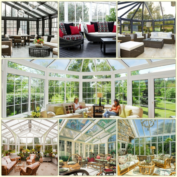 Wohnwintergarten Gestalten Und In Eine Gemütliche Glasoase Verwandeln Einrichtungsideen Fuer Den Wintergarten