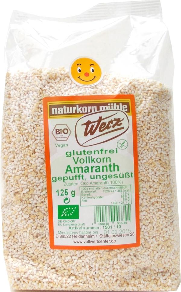 glutenfreies getreide amaranth vollkorn
