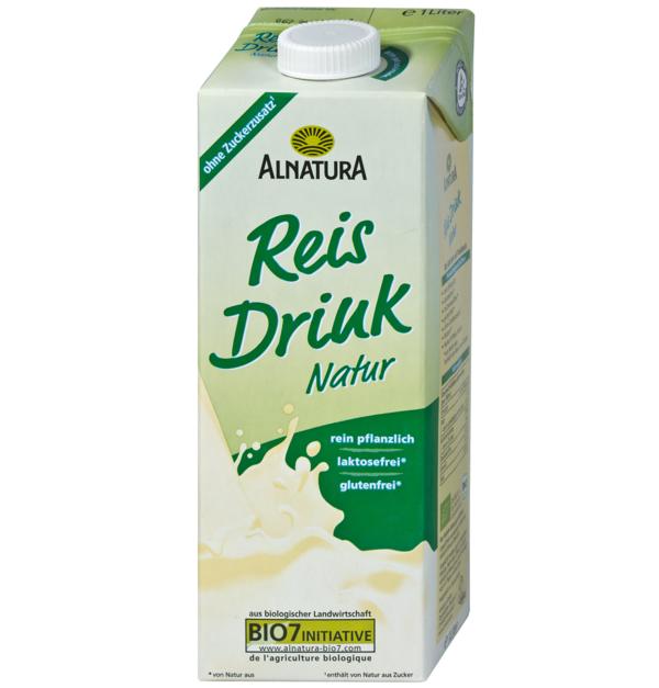 glutenfreies getreide reis drink alnatura