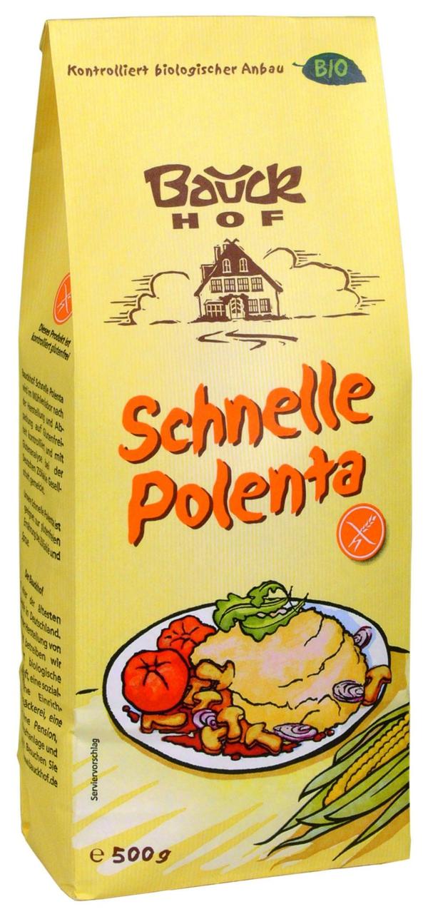 glutenfreies getreide schnelle polenta