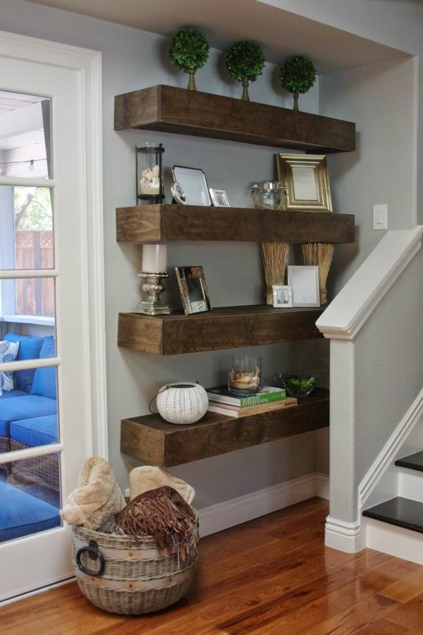 Sideboard hängend an der Wand für eine schicke ...