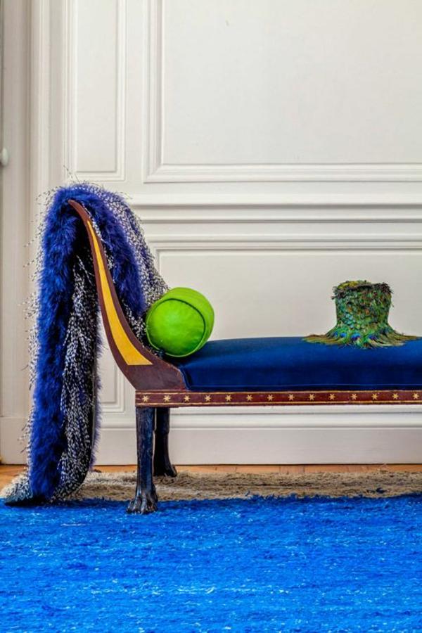 innendesigner Luis Laplace Kreative Wohnideen in blau