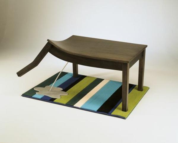 neuartige möbel Judson Beaumont designer holztisch