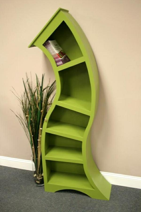 innovative möbel design möbel skurriles bücherregal