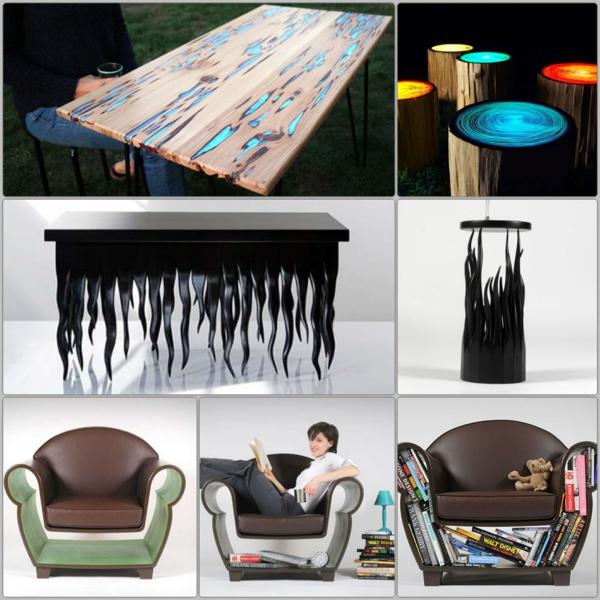 innovative möbel designer möbel skurrile formen