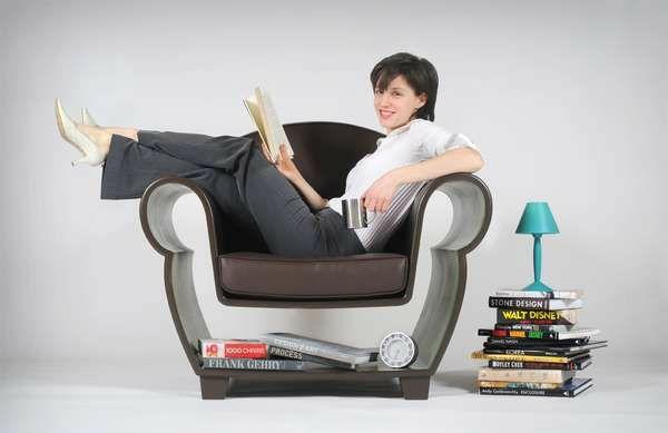 innovative möbel designer sessel leseecke gestalten