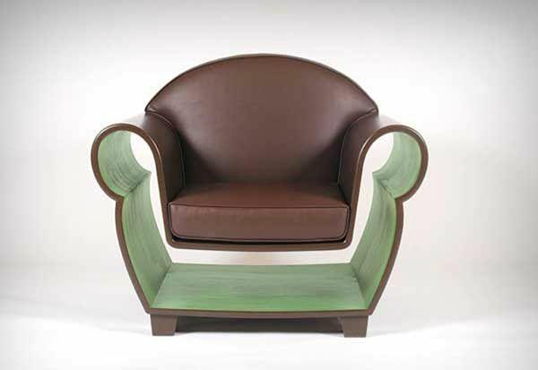 innovative möbel designer sessel mit stauraum