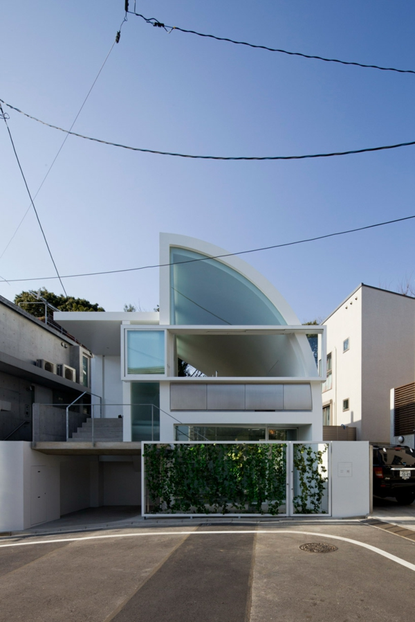 Japanische architektur modernes haus mit dachterrasse 2014 11 07