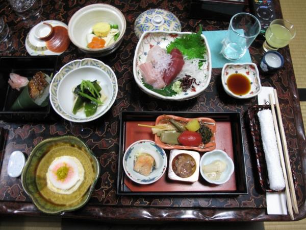 japanisches essen sushi gesund essen hautpflege schöne haut tipps aus japan