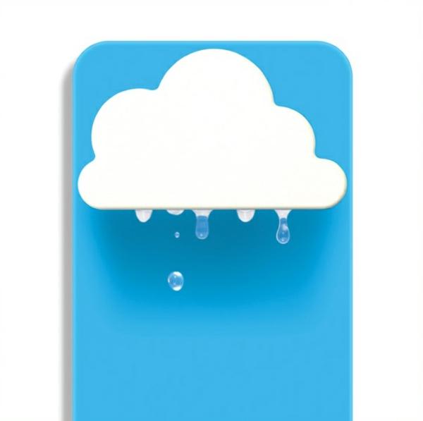 kübel rainy pot wand blumentopf hängend wolken