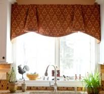 Durch Küchengardinen sorgen Sie für das vollendete Küchendesign
