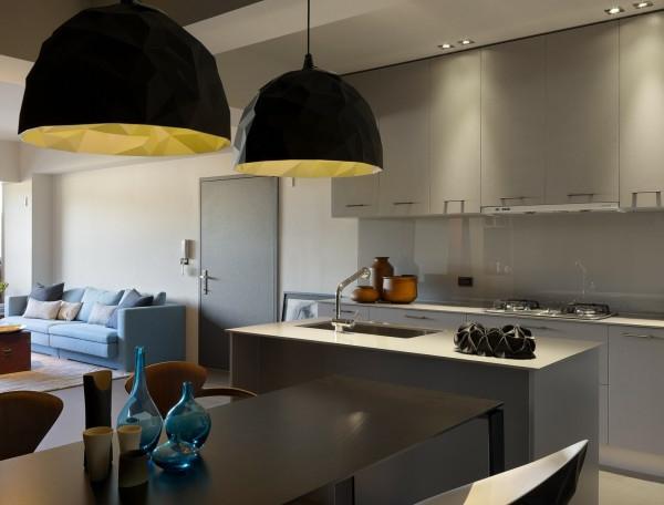 küche planen klein offener wohnplan