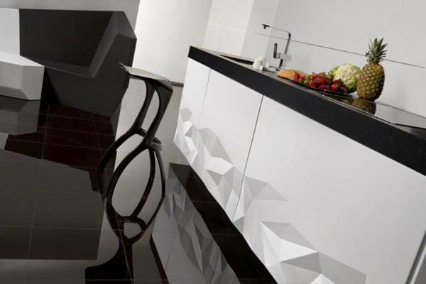 küchengestaltung moderne küche estudiosat design 3D oberflächen