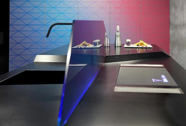 küchengestaltung moderne kücheninsel wandgestaltung
