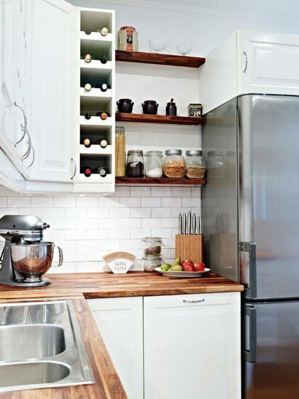 Ungewöhnlich Kleines Nasses Küchendesign Zeitgenössisch - Küchen ...