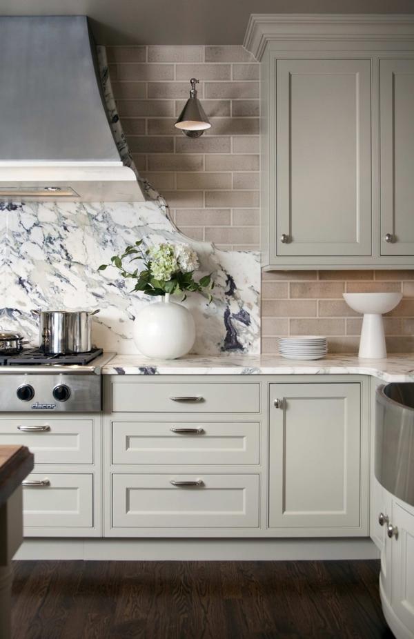 küchenplanung stilvolle ausstattung schöne akzentwand