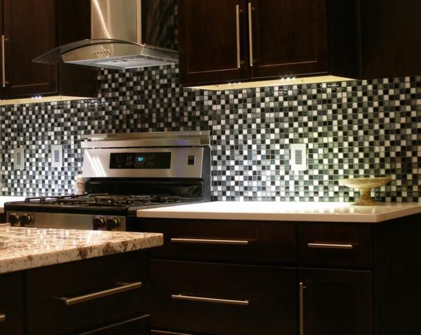 Küchenrückwand Ideen - Mosaikfliesen in der Küche