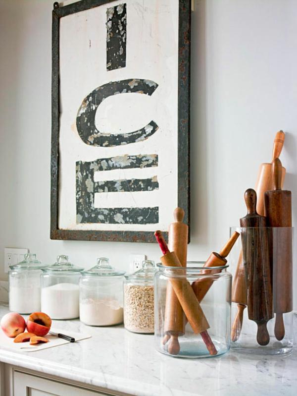 küchenutensilien aufbewahren kleine küche einrichten einrichtungstipps