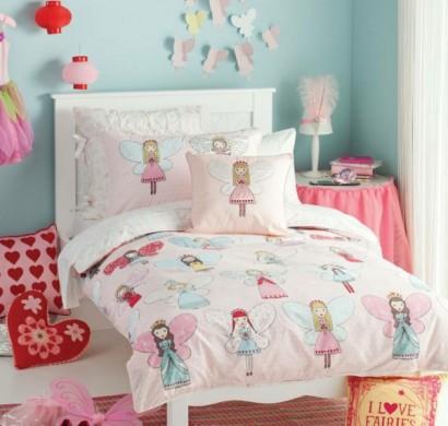 farbige kinderbettw sche l sst kinderzimmer ansprechender erscheinen. Black Bedroom Furniture Sets. Home Design Ideas