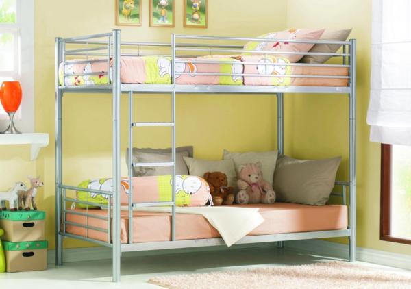 kinderzimmer einrichten doppelbett kinderhochbett design