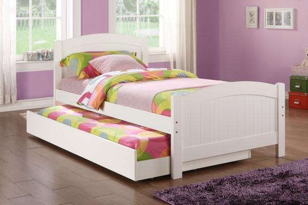 kinderzimmer einrichten möbel doppelbett farbige bettwäsche