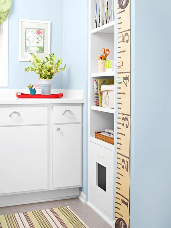 kleine küche einrichten einrichtungstipps eingebauter küchenschrank