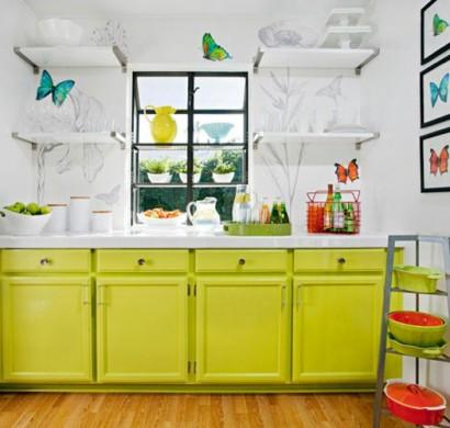 kleine k che einrichten und mit ein paar tricks personalisieren. Black Bedroom Furniture Sets. Home Design Ideas