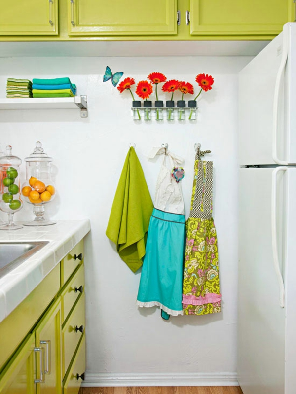 Kleine Küche einrichten und mit ein paar Tricks personalisieren