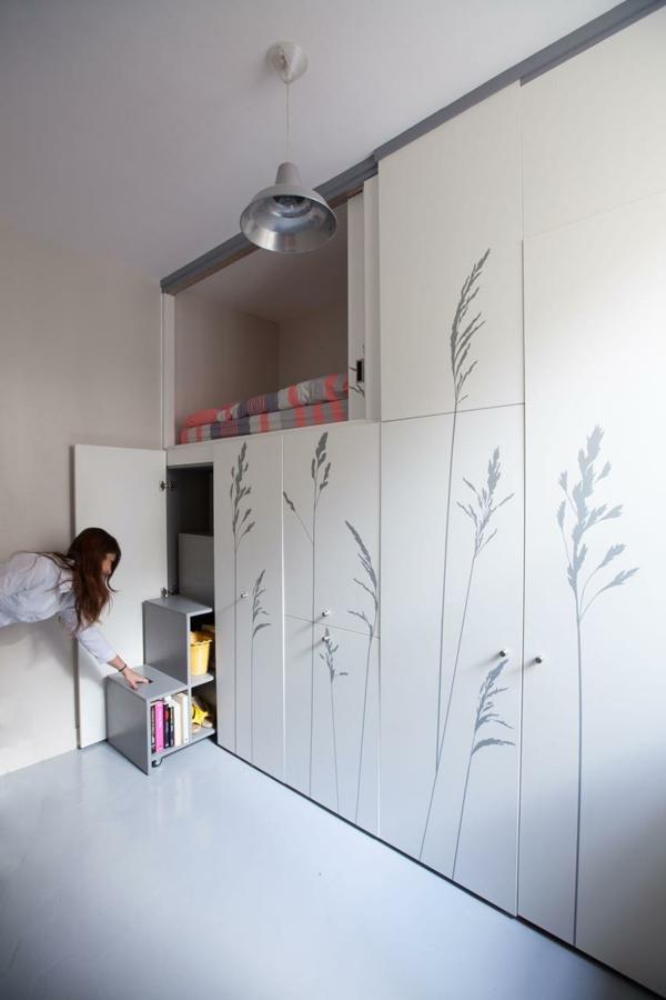 wie sie eine multifunktionale kleine wohnung einrichten können, Innenarchitektur ideen