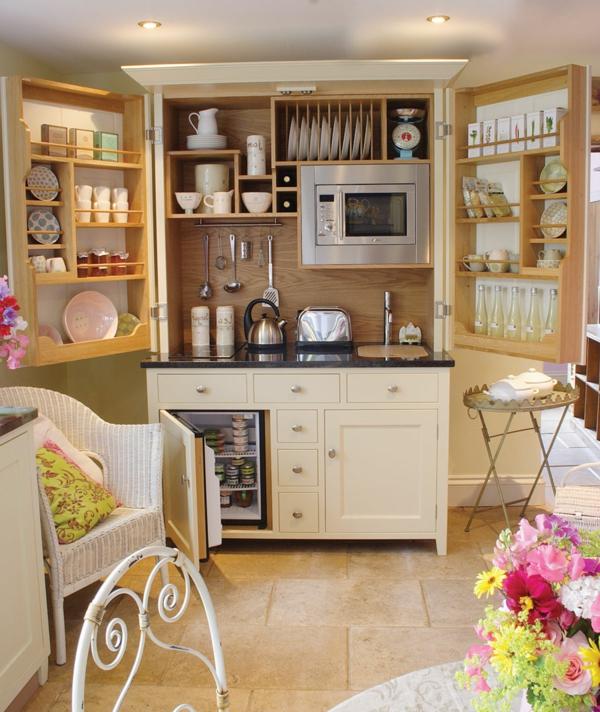 kleine wohnungen einrichten kleine küche gestalten dekorieren
