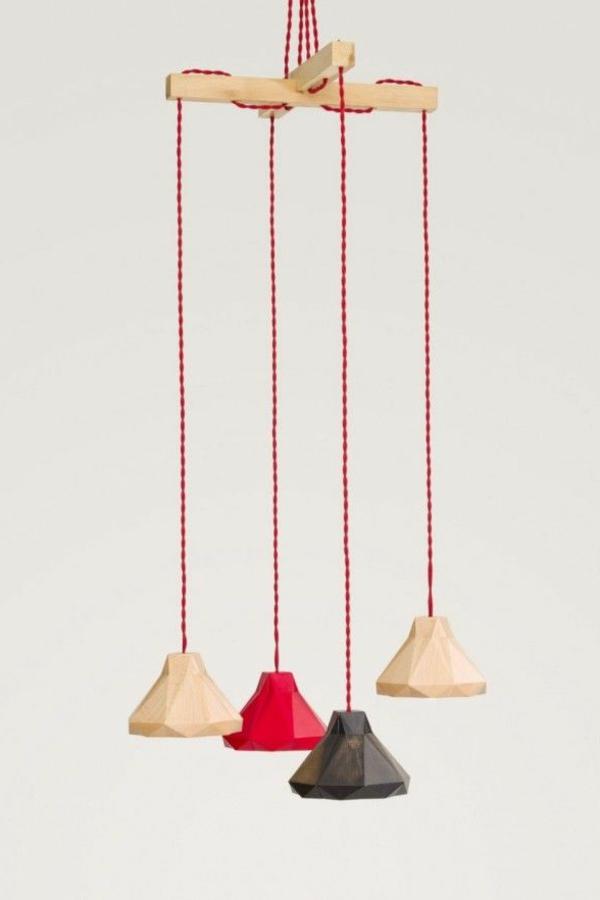 lampen Obje design pendelleuchten farbig