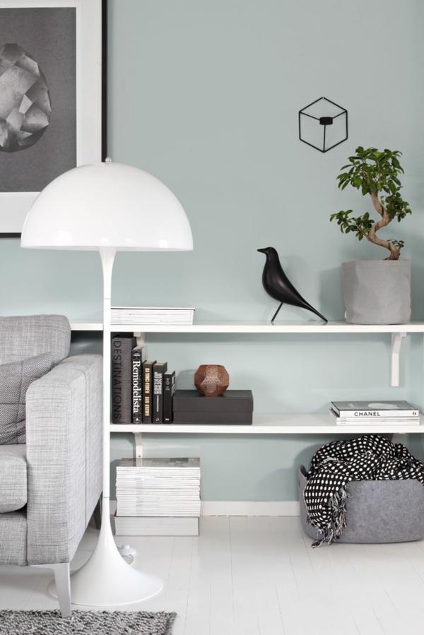 lampenschirm stehlampe weiße elegante lampe
