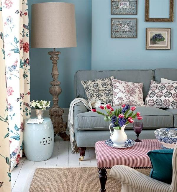 Design : gardinen landhausstil wohnzimmer ~ Inspirierende ...