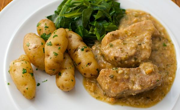 leckeres gesundes essen fleischgerichte pellkartoffel spinat fleisch