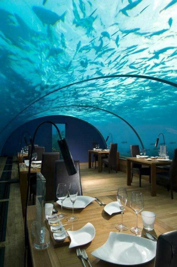 luxushotels Conrad Rangali Island Maldives design ferienhaus