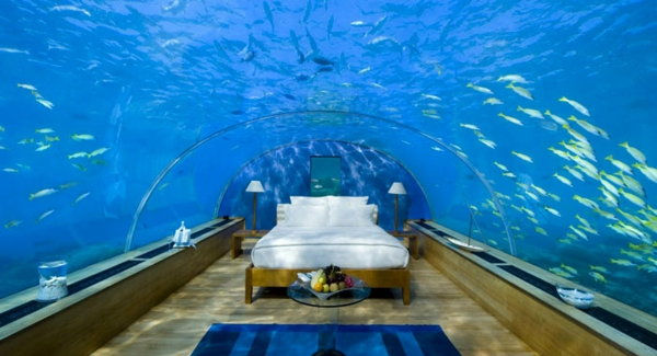 luxushotels design ferienhaus Poseidon Undersea Resort Fiji