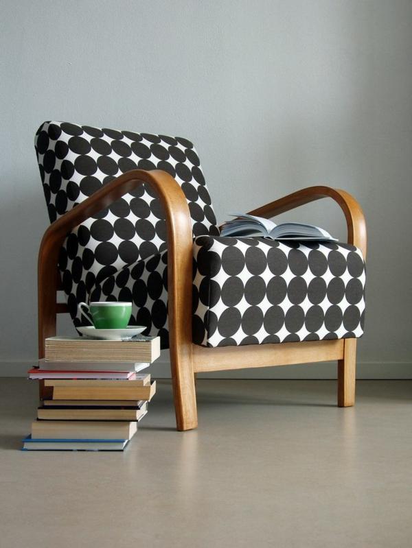 Neue Möbelstoffe für alte Polstersessel - Dessins, Farben, Qualität