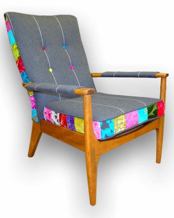 Neue Möbelstoffe Für Alte Polstersessel Dessins Farben Qualität