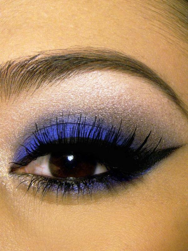 make up tipps augen lila eyer liner