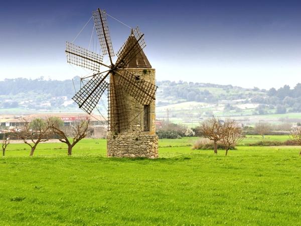 mallorcaurlaub es pla windmühle
