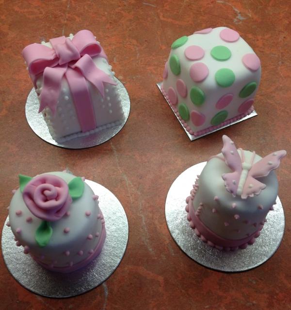 mini kuchen schöne designs originell