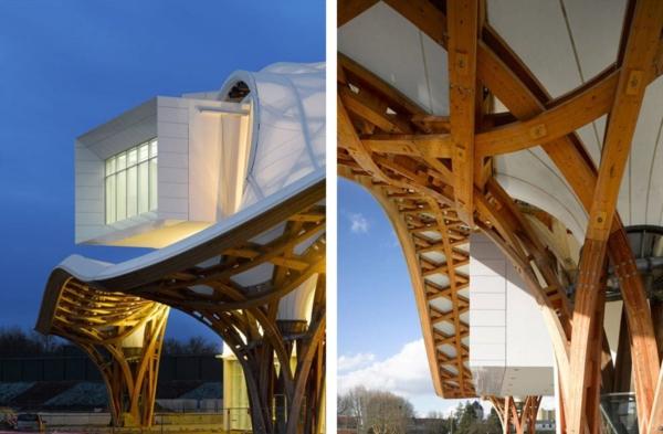 moderne architektur shigeru ban modernes gebäude
