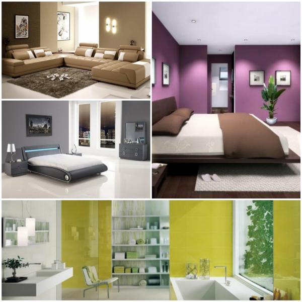 Moderne Wandfarben Welche Sind Die Neuen Tendenzen F R 2015